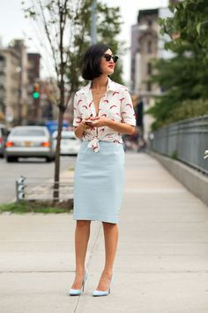 The NYFW Street Style Looks That Truly Stunned #refinery29  http://www.refinery29.com/2014/09/73987/new-york-fashion-week-2014-street-style-photos#slide19  Here's Nicole's full look.