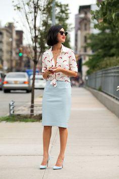 New York Street Style - Fashion Week 2014