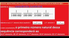 https://youtu.be/MYVMvechgIQ Curso Raciocínio Lógico Sequência números Teste Psicotécnico Detran Conc...