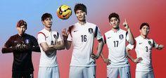 Nueva Camiseta del corea segunda por Mundo 2014 Thailand