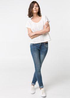 Camiseta frontal crochet