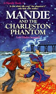 """Review of """"Mandie and The Charleston Phantom"""" by Lois Gladys Leppard."""