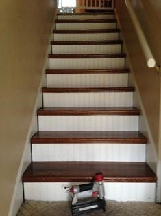 Pin On Northridge House   Prefab Wooden Stairs Home Depot   Cement   Modular Staircase   Handrail   Stair Stringer   Stair Railing