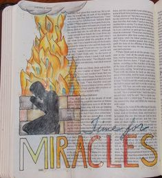 TFM: The Miracle of the One Bible Art Journaling Process - Devotion in Action Bible Art, Bible Quotes, Church Bulletin Boards, 1 Kings, Christian Crafts, Scripture Verses, Art Journal Inspiration, Doodle Art, Art Journaling