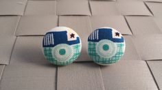 Items similar to Retro Camera Fabric Covered Button Post Earrings Inch] on Etsy Retro Camera, Fabric Covered Button, Button Earrings, Baby Shoes, Buttons, Trending Outfits, Unique Jewelry, Handmade Gifts, Kids