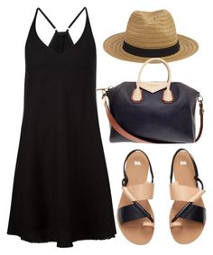 Black N Tan by ellary-branden on Polyvore featuring ATM by Anthony Thomas Melillo, H&M and Givenchy
