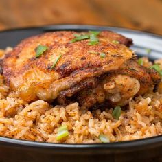 Paprika Chicken & Rice Bake