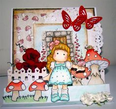 Card 3D - Magnolia Stamps and Goodies Stamps