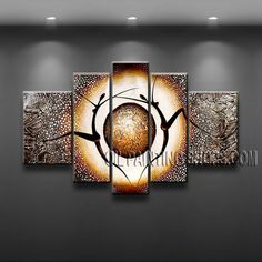 Large Modern Textured Painted Wall Art High Quality Oil Painting For Bed Room… Panel Wall Art, Canvas Wall Art, Canvas Paintings, Decoration, Art Decor, Painting Textured Walls, Painting Abstract, Contemporary Abstract Art, Arte Popular