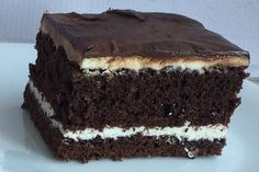 Cheese and chocolate cake Food Cakes, Homemade Cakes, Chocolate Cake, Cake Recipes, Chicken Recipes, Food And Drink, Yummy Food, Delicious Recipes, Sweets