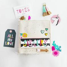 Mad Scrap Project: Inspírate I: Cute Girl de Crate Paper