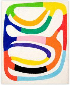 Andrew Masullo, 4493, Oil on canvas