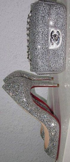 Louboutin and Chanel Bling Bling♥✤ | KeepSmiling | BeStayBeautiful