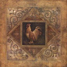 Classic+Rooster+II+at+FramedArt.com