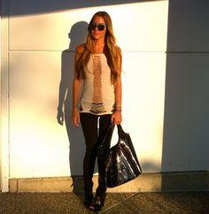lOVE LOVe LoVE love LovE!!!  Thrifty, fashion forward, and fabulous!  (shirt dress & cut ups!)