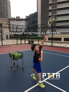 Tennis Poetry in Motion @ThePTTA #PhilippineJuniorTennis #Philippine #Junior #Tennis #Lessons #Training #Academy #camp