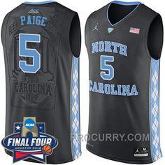 2016 Marcus Paige NCAA North Carolina Tar Heels  5 College Black Basketball  Jersey 2550c1ed0