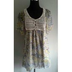 Clotheswap - cute boho dress Hippie Chick, Hippie Bohemian, Boho Dress, Boho Chic, Lace, Tops, Dresses, Women, Fashion