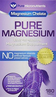 Magnesium Glycinate, Magnesium Supplements, Amino Acids, Pills, Pure Products