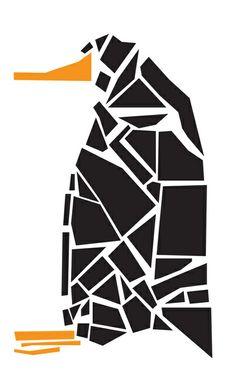 *  Penguin Art Print