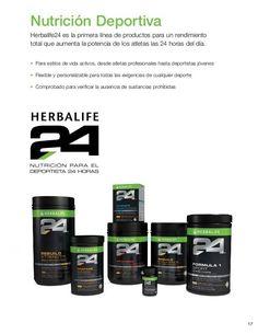 17 Nutrición Deportiva Herbalife24 es la primera línea de productos para un rendimiento total que aumenta la potencia de l...