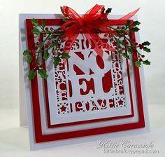 Framed Noel (via Bloglovin.com )