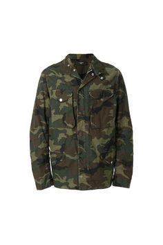 {Amiri / 01 clothing / 07 outerwear / 01 jacket} Camo M65 Jacket