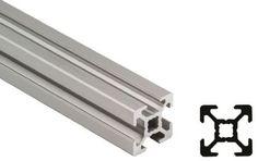 Buy Stiverprofil, L: 3000mm, Aluminium, 40 x 40mm