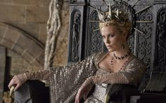 Charlize Theron as the Evil Queen in Snow White & The Huntsman