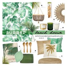 """16.06.16"" by palmtreesandpompoms ❤ liked on Polyvore featuring interior, interiors, interior design, home, home decor, interior decorating, Taschen, NOVICA, Bloomingville and NDI"