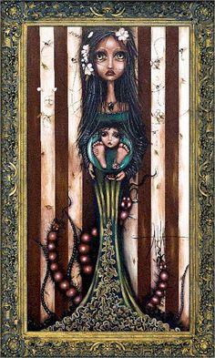 Hive by Angelina Wrona Fantasy Supernatural Novelty Print Poster Dark Artwork, Framed Artwork, Art Sombre, Poster Prints, Art Prints, Posters, Macabre Art, Canadian Artists, Surreal Art