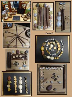 "Line Designs and Loose Parts from Rachel ("",)"