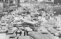 1967 Chicago Snow Pictures   Cermak Road at the end of the storm (Chicago Sun-Times file photo)