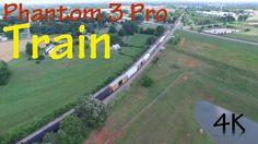 DJI Phantom 3 Pro Train in 4K UltraHD with CPL Filter