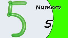 Video tutorial on how to make the Number five with balloon twisting. Learn the numbers with balloons modeled #numbers #number5 #numberfive