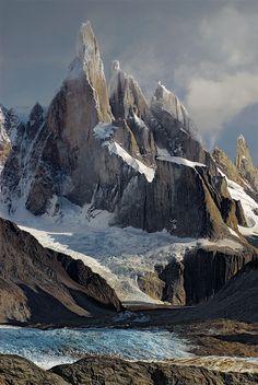 Argentina - Cerro Torre - Los Glaciares National Park, Santa Cruz Province, Patagonia, Argentina.