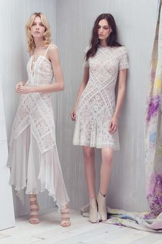 Tadashi Shoji | Resort 2017 collection | White lace