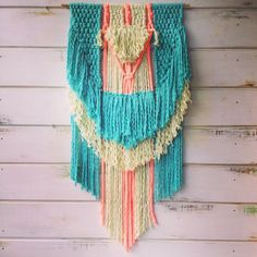 Bloomy #macrame #weaving by Belen Senra (ranrandesign.com)
