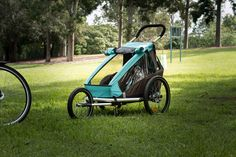 The Croozer Kid Plus for 1 is the perfect 3-in-1 stroller, jogger and bike trailer for your child.   The suspension upgrades on the plus make it a  very competitive choice for families and a worth-while investment for 2015.  Check out the review here - http://youtu.be/WdnBf5_nI-8