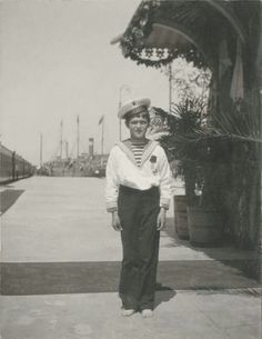 Tsarevich Alexei Nikolaevich Romanov of Russia at Sevastopol Railway Station in 1896.A♥W