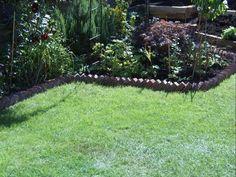 Use Recycled Bricks as Garden Edging