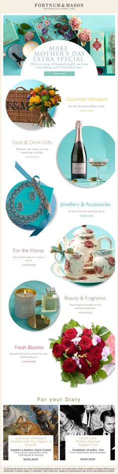 Mother's Day from Fortnum & Mason