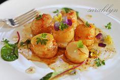 Scallops with Garlic and Saffron | Sarahlyn's Kitchen