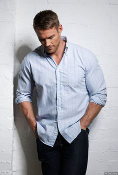 "Jessie Pavelka - Inspiration for Lucas Spencer in ""Spit or Swallow"" and ""Aftertaste."" Buy on Amazon: http://www.amazon.com/Brigham-Vaughn/e/B00HVNTNSE"