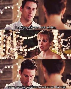"so sad...  :'(  Channing Tatum & Rachel McAdams in ""The Vow"""