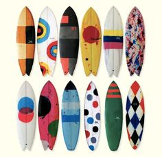 surfboard color schemes - green one