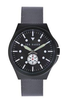Men's Stainless Steel Quartz Watch on HauteLook