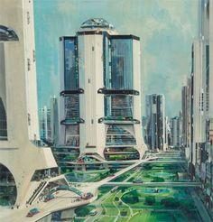 civilization fiction, 70sscifiart:   John Berkey