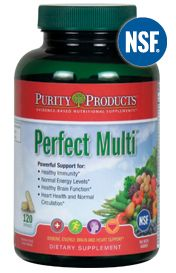 Perfect Multi - Multivitamins - Purity Products - Features and Benefits