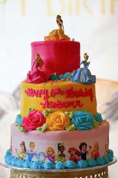 Take a look at this gorgeous princess birthday party! Love the cake! See more party ideas and share yours at CatchMyParty.com Princess Birthday, Princess Party, Girl Birthday, Birthday Cake, Bridal Shower Cakes, Baby Shower Cakes, Girls Birthday Party Themes, Birthday Parties, Rustic Cake